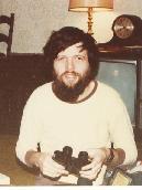 Bill at Xmas 1980