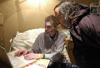 Bill Royds with Richard Stallman